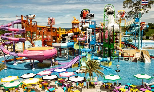 The world's first Cartoon Network Amazone waterpark opens in Thailand