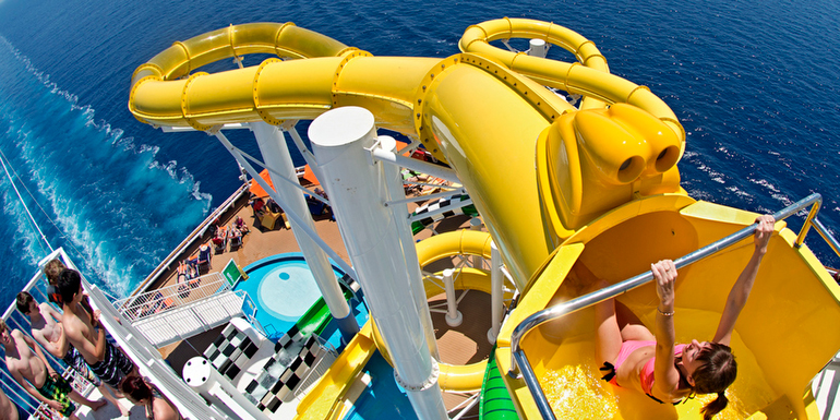 The 5 Craziest Cruise Ship Water Slides
